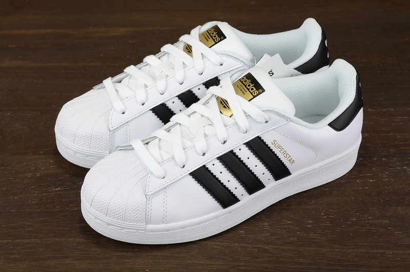 5b7b39506c3 Classic Adidas Originals Superstar Leather Casual Shoes women s ...