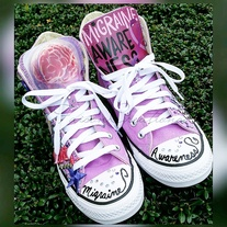 Wen Hand Painted Shoes Floral Original Design Custom Converse All ... dfe6f0a70450