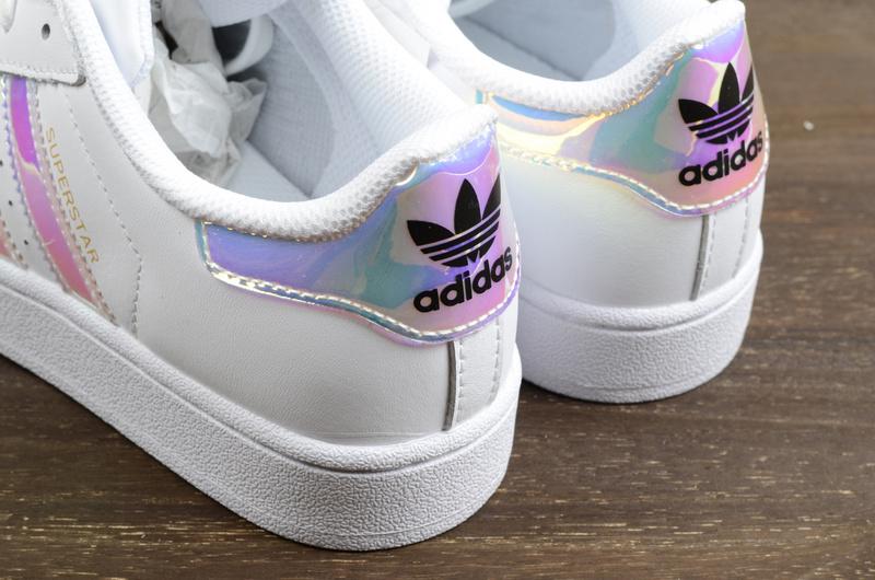 ... Classic Originals women s men s Superstar Leather Casual Shoes Laser  Symphony White - Thumbnail 4 89877e0bc
