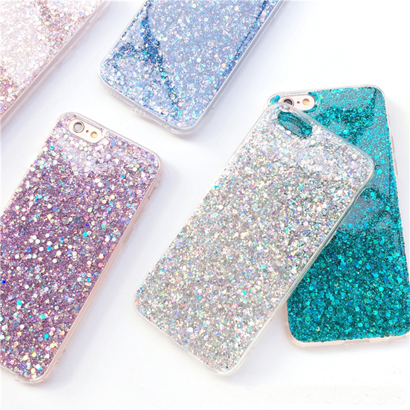Perfect Glitter iPhone X 8 7 6 6S Plus Silicone Case IPS706 ...