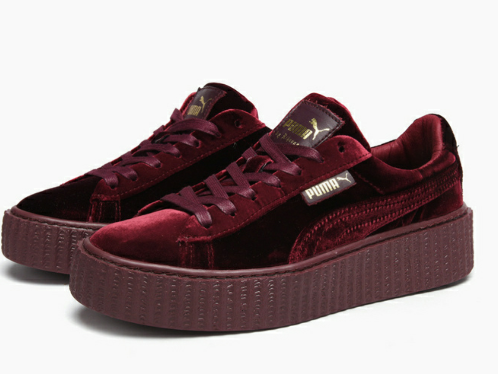 Fashion shoes Fenty X Rihanna Women s Velvet Creeper on Storenvy 7381f3c9a