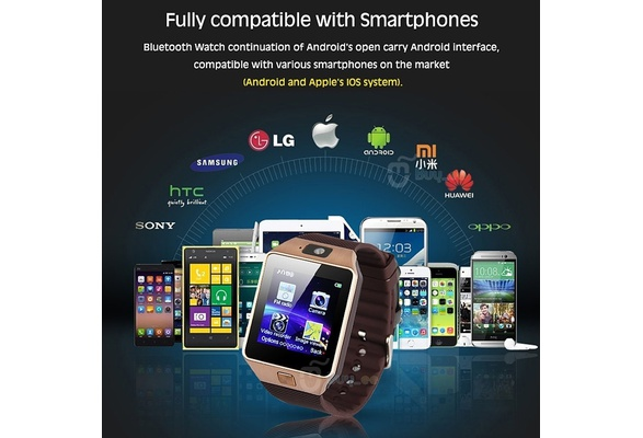Fashion 2016 Newest Smart Watch Upgrade Smartphone Call SMS Anti-lost  Bluetooth Bracelet Watch for Android Phone sold by Magic Gifts Store