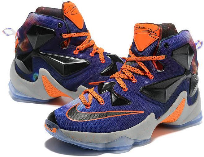 7e0af1b2a3a Wholesale Nike Lebron 13 Orion Court Purple Orange Black on Storenvy