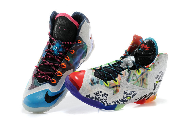 sports shoes 05630 786b0 What The LeBron * Nike LeBron James 11 Basketball Shoes Fashion Nike LeBron  James Soldier Sport Shoes On Sale from BELLDRESS