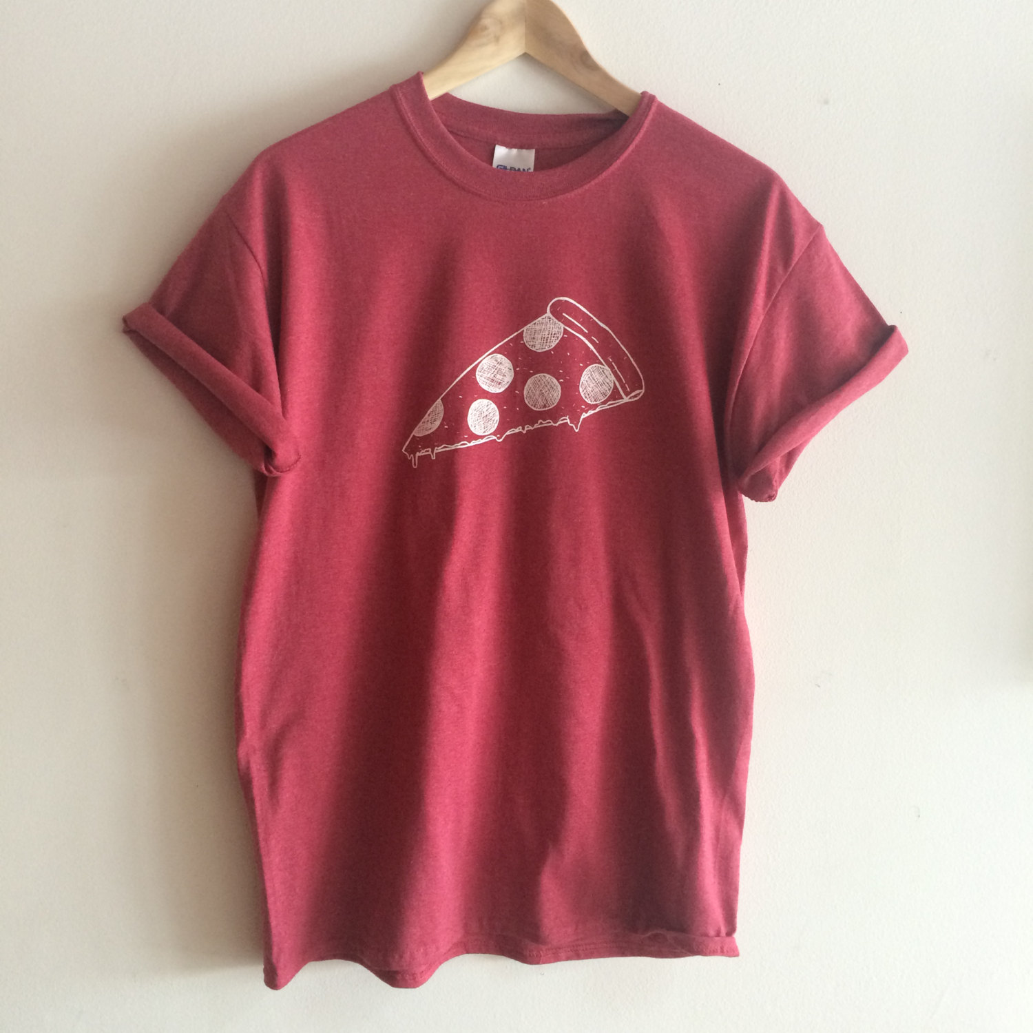 Pizza T Shirt Food Shirt Screen Printed Shirt On Storenvy