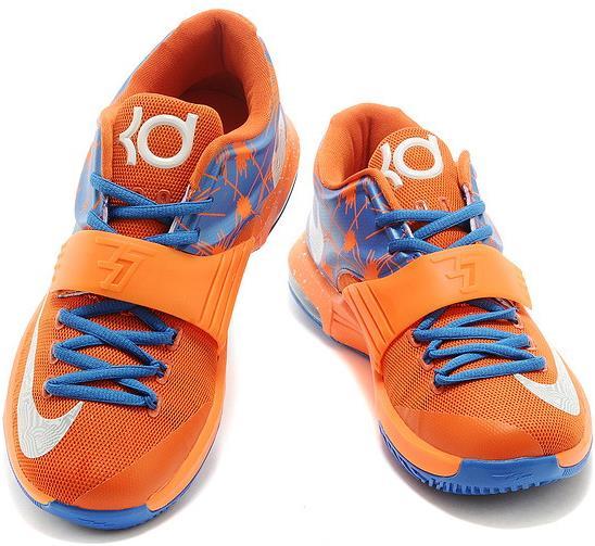 low priced 74c4b a7af3 KD 7 Orange Blue sold by giryhmfvuh
