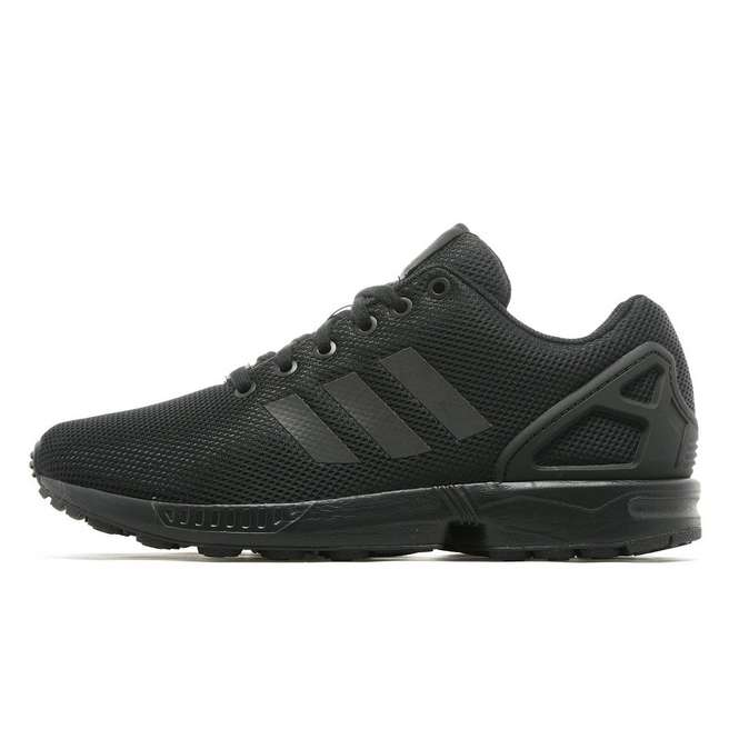 timeless design a049a 9e2f6 Fashion Adidas Originals ZX Flux Women s Men s All black Sneaker