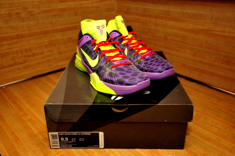 """d63e3f0f26d2 DS - Nike Zoom Kobe 7 (VII) """"Cheetah"""" - Violet Pop/Volt-Ink/Red on Storenvy"""