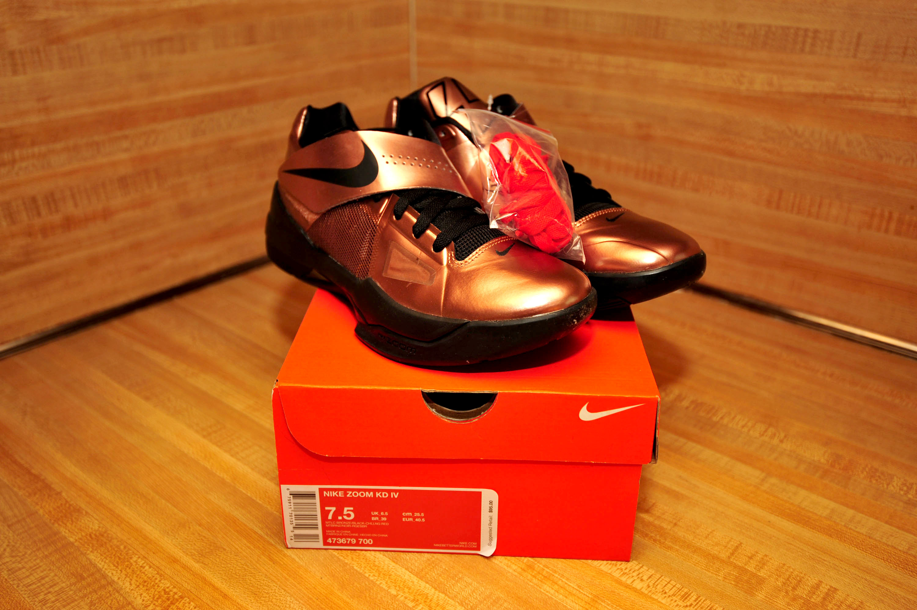 DS - Nike Zoom KD IV \