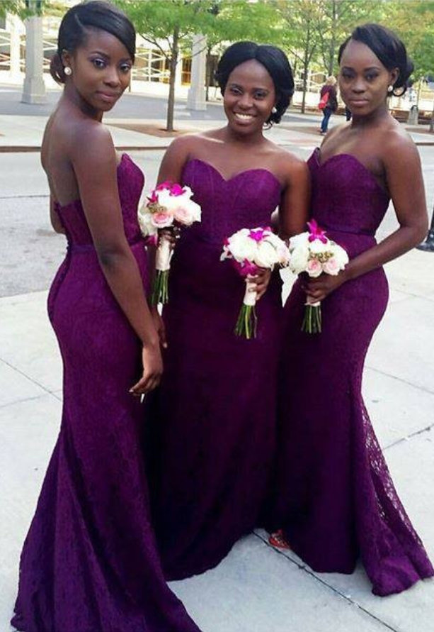 Purple mermaid lace bridesmaid dresses sweetheart long corset purple mermaid lace bridesmaid dresses sweetheart long corset bridesmaid dresses cheap backless party gowns junglespirit