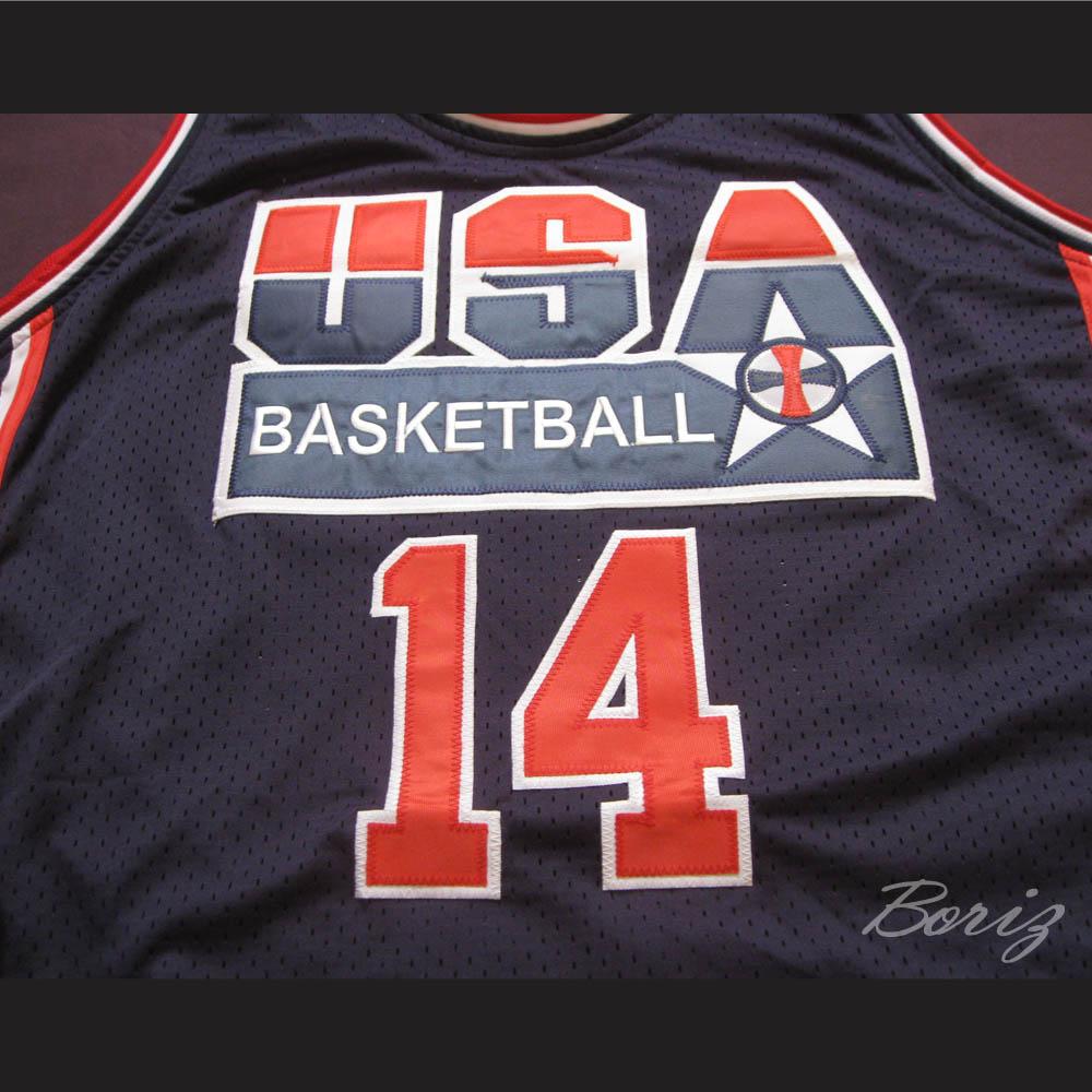 7c5579e01 ... Charles Barkley Dream Team 1992 Retro Jersey USA 14 All Sizes -  Thumbnail 2 ...