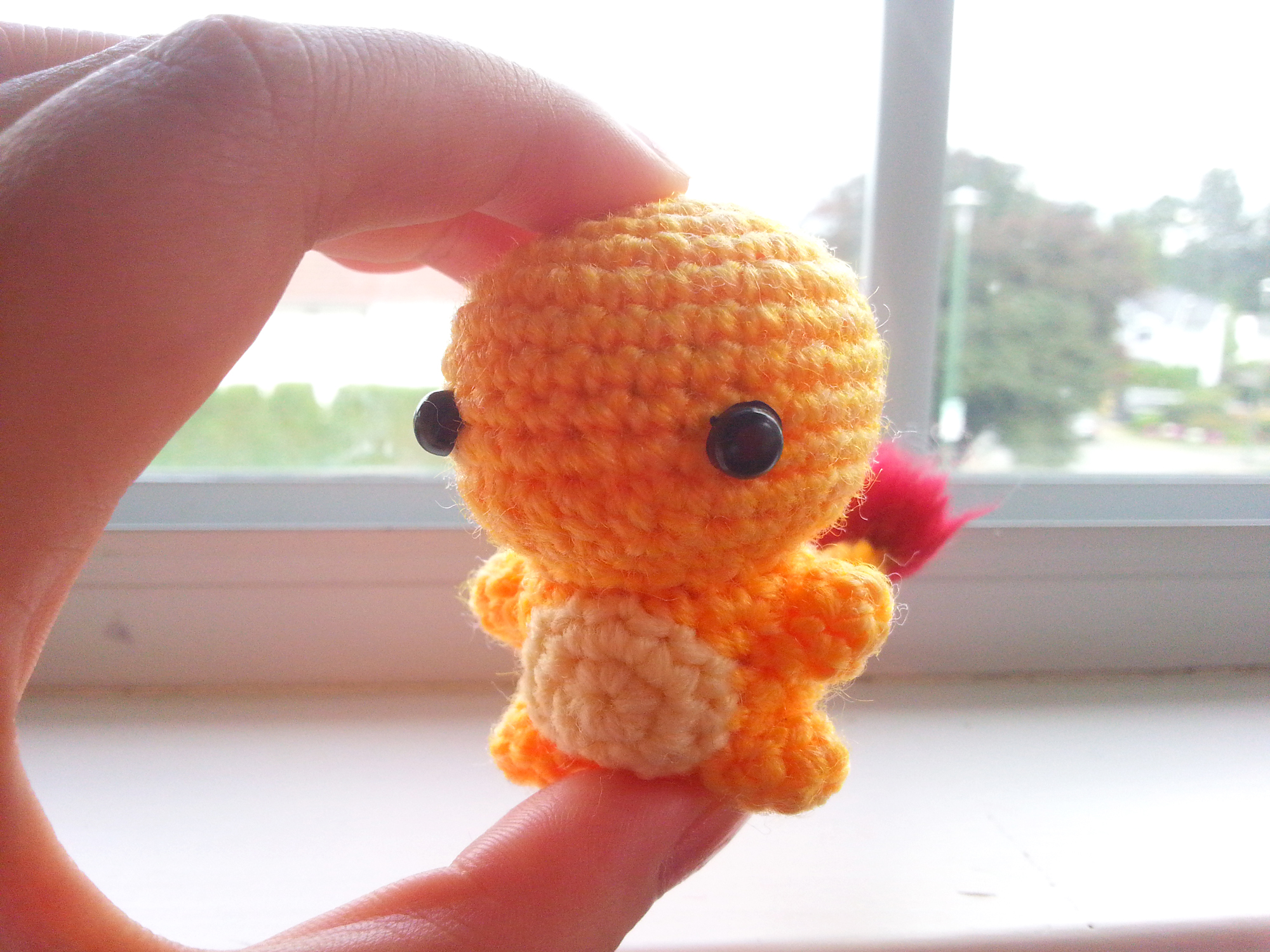 Amazon.com: Charizard Amigurumi/Crochet Stuffed Doll (Pokemon ... | 1500x2000