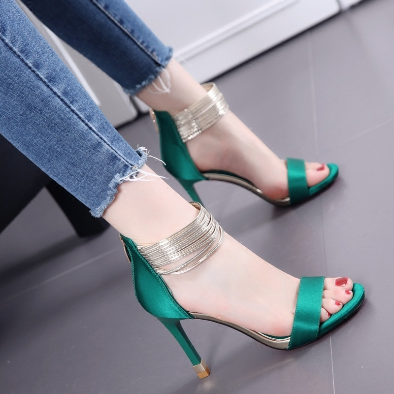 Sexy Green Heels