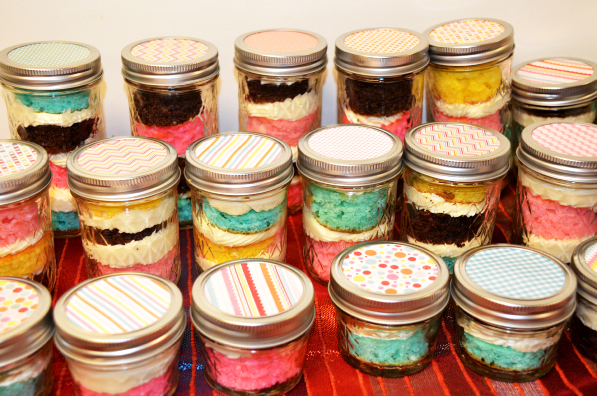 Alcohol Infused Cake Jars Sold By 2 Ladies And A Cake On Storenvy