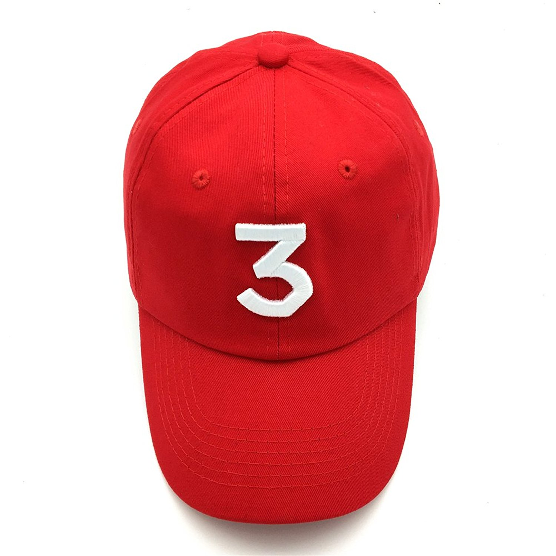3e84465ed XU YUANHUO Chance 3 HAT Cotton Embroidery Adjustable Baseball Cap Snapback  Dad Hats Unisex