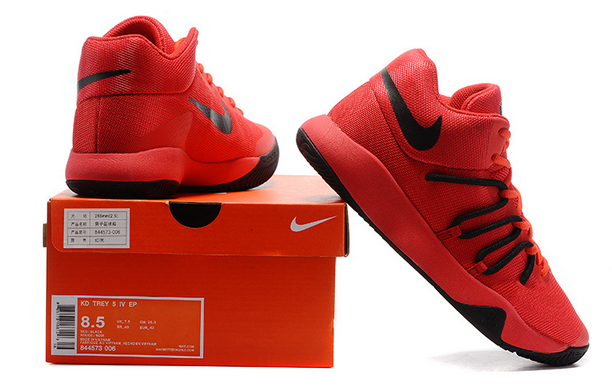 21a9c6bc02c Nike KD Trey 5 V EP Durant University Red Black Men Basketball Shoes on  Storenvy