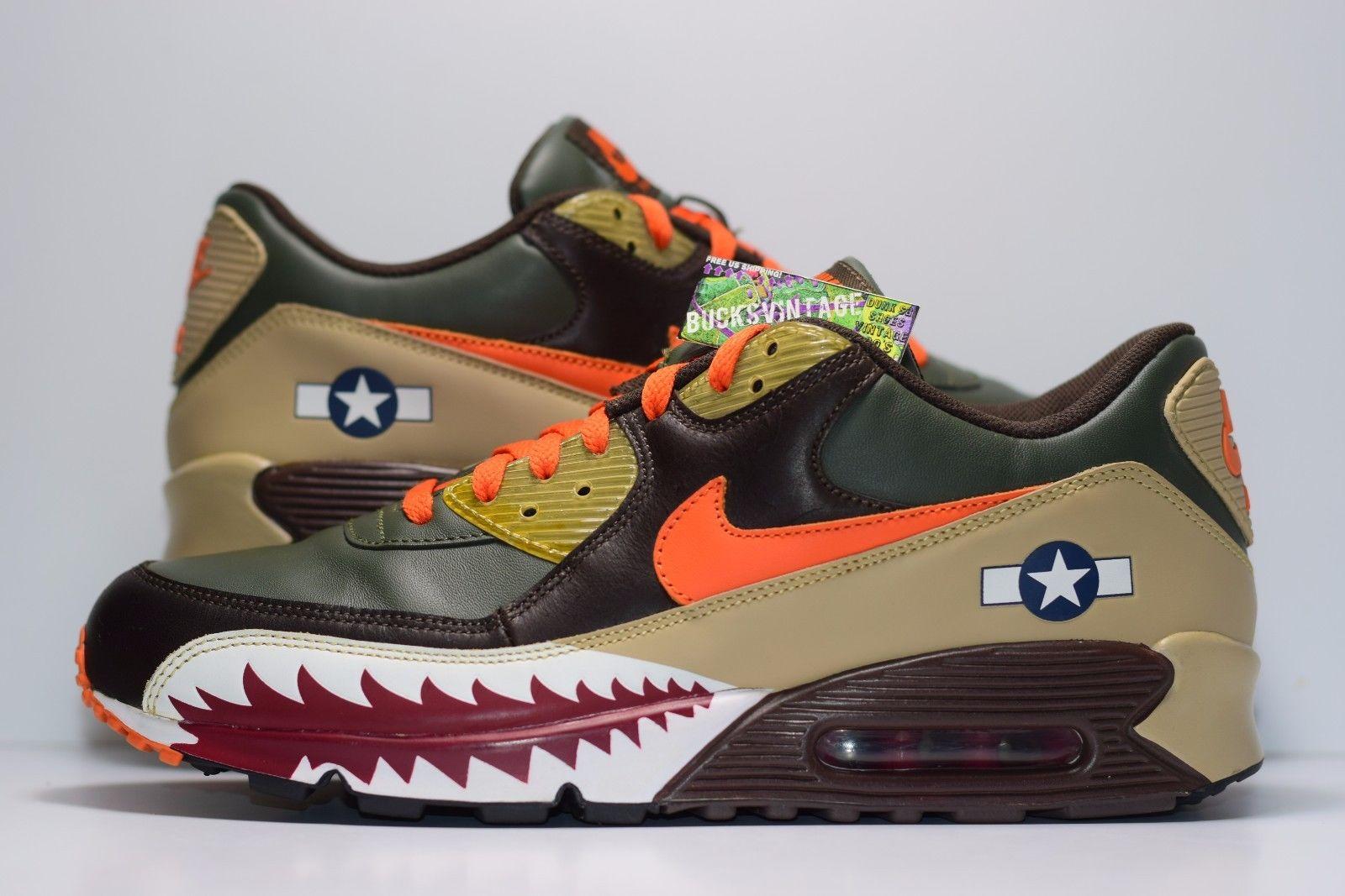 5a2def9a081 Size 11 | 2007 Nike Air Max 90 Premium Warhawk 315728-381 on Storenvy