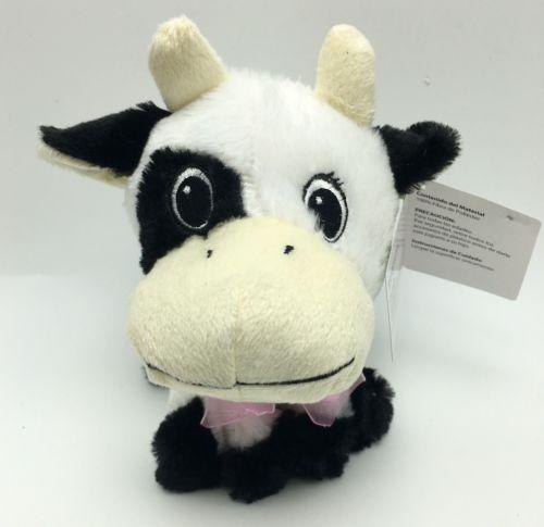 Cow Black White 7 Inch Plush Stuffed Animal Toy New On Storenvy