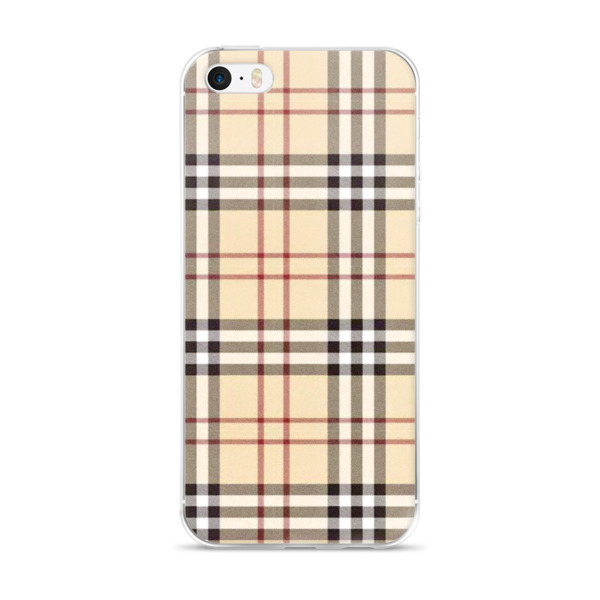 new photos 5f693 85e13 Burberry inspired - iPhone 5/5s/Se, 6/6s, 6/6s Plus Case from Vi3