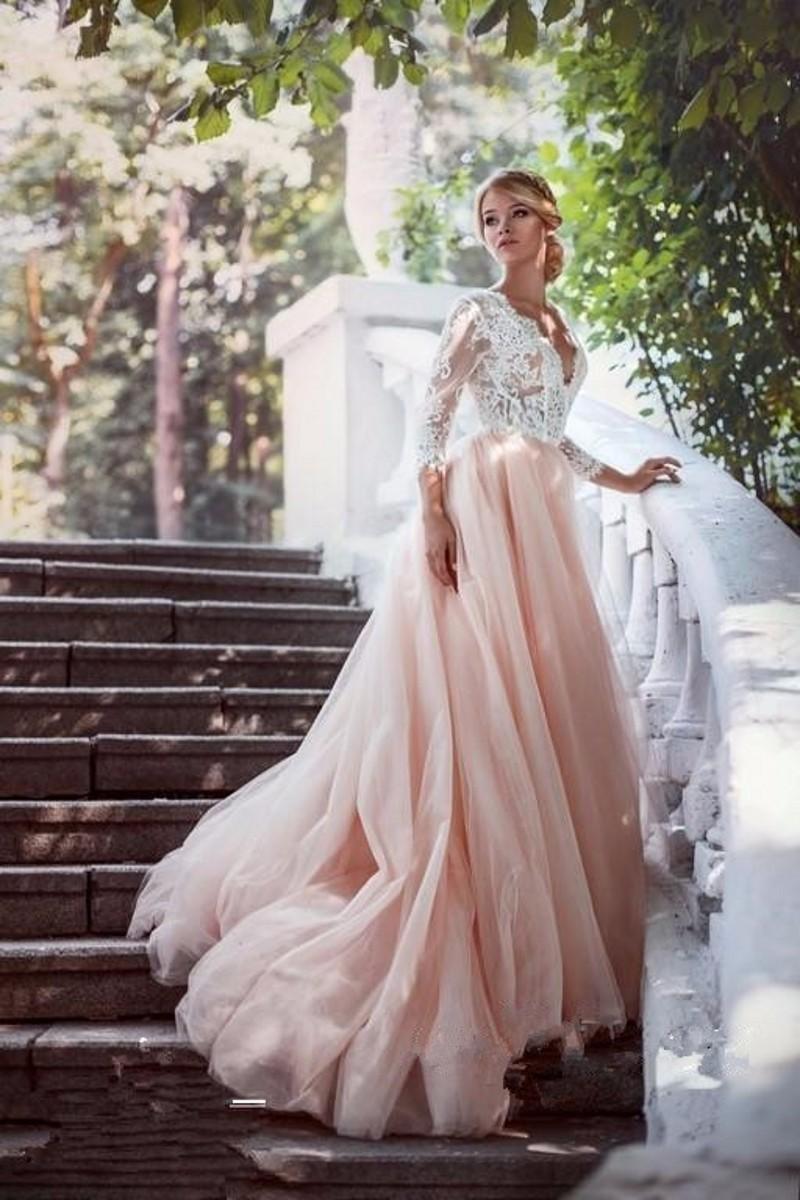 E20 A Line Wedding Dresses,Lace Bodice Wedding Dresses,Vintage ...