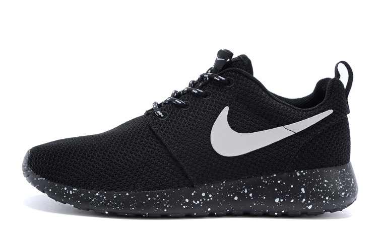 meet d50fd 6bbfd Fashion Nike Roshe Run Triple Black Oreo White Splatter Speckle running  shoes sold by sport shoes