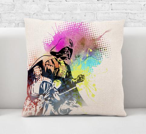 Throw Pillow Case Cushion Cover Darth Vader Star Wars