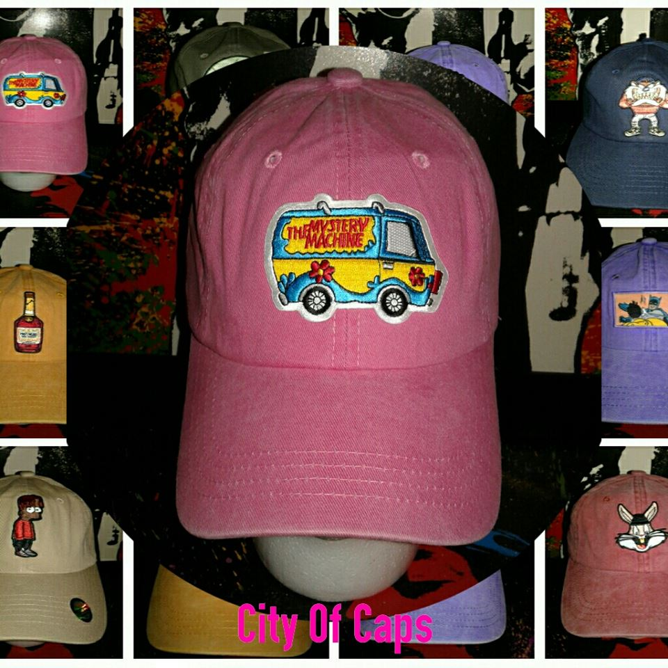 South Beach Scooby Doo Mystery Machine DadHat -Adjustable Strap on Storenvy aafc96b7379
