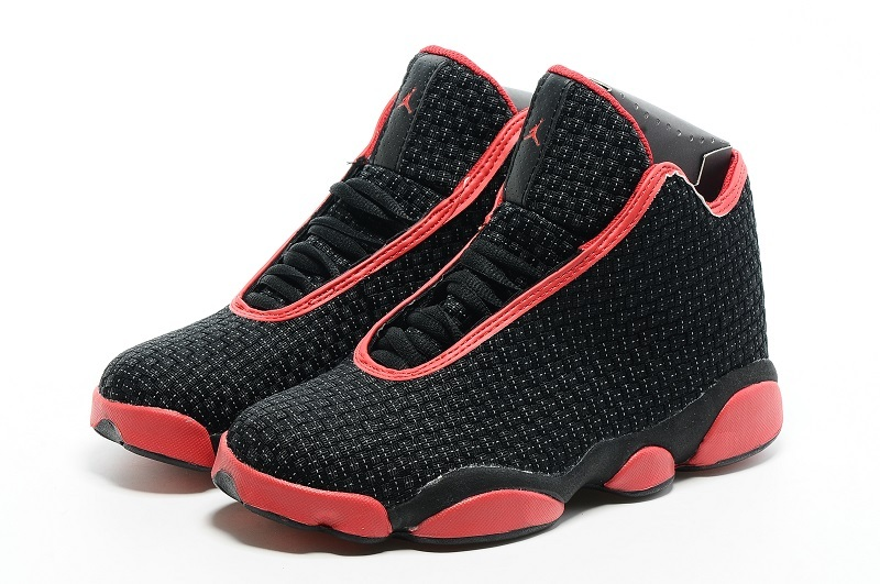 promo code a84af 9fd82 Newest Nike Air Jordan 13 Shoes, Nike Air Jordan 13 Retro Basketball Shoes  Black Red On Sale