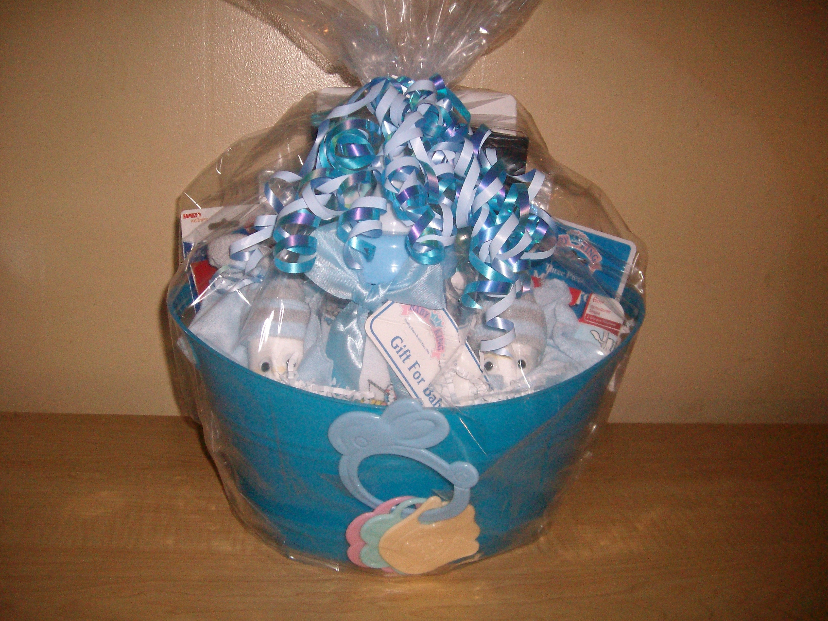 de883fb1f18b New Arrival Baby Boy Baby Shower Gift Basket or Centerpiece on Storenvy