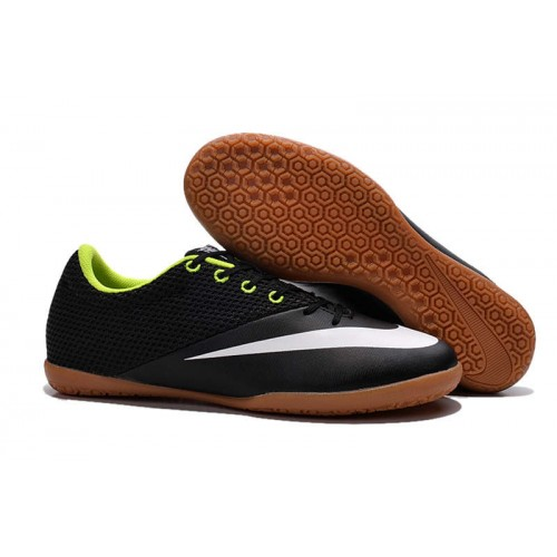 premium selection 8cbb2 3c0c0 Nike Mercurialx Pro Street IC Black White Green sold by Cleats23A