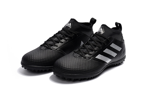 check out 6d456 120c9 adidas ACE 17.3 Primemesh TF Fluorescent All Black White Soccer Cleats sold  by cleatssale4A