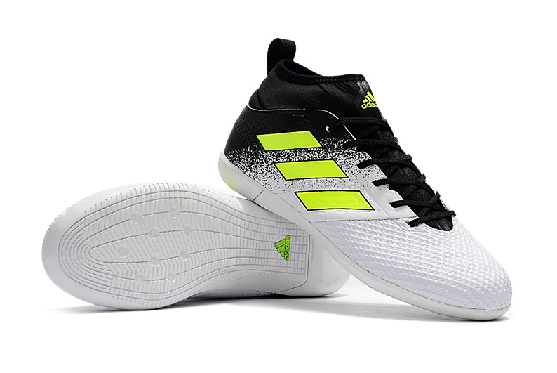 new concept 64aba 2a993 Adidas Soccer Cleats ACE 17.3 Primemesh IC Green White Black sold by  cleatssale4A