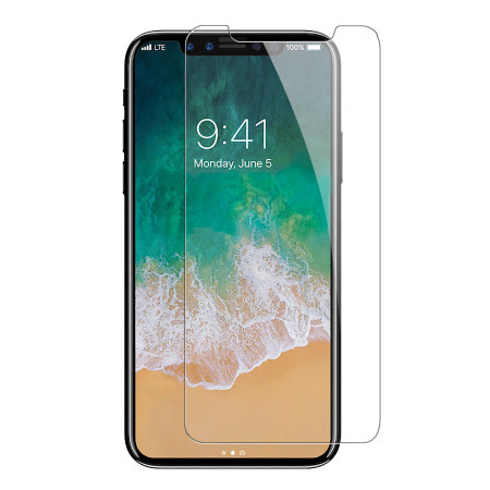 huge selection of 63517 8ff5e iPhone X iPhone 10 Tempered Glass Screen Protector CLEAR from The Handshake  List