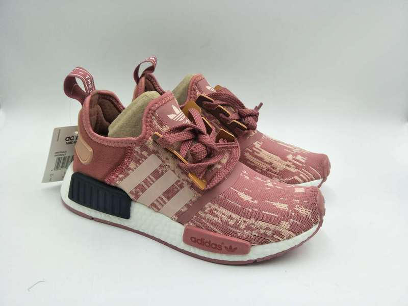 c988bcde24449 ... Fashion Adidas NMD R1 Raw rose red Women casual shoes - Thumbnail 3 ...