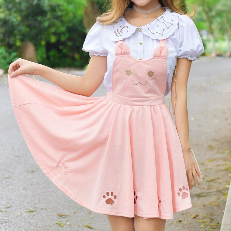 Vestido Gato Cat Dress Wh475 On Storenvy