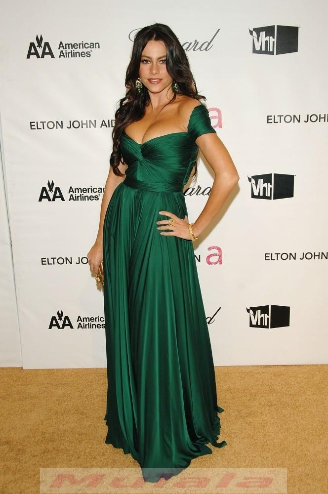 Emerald Green Off The Shoulder Prom Dresses Long Evening