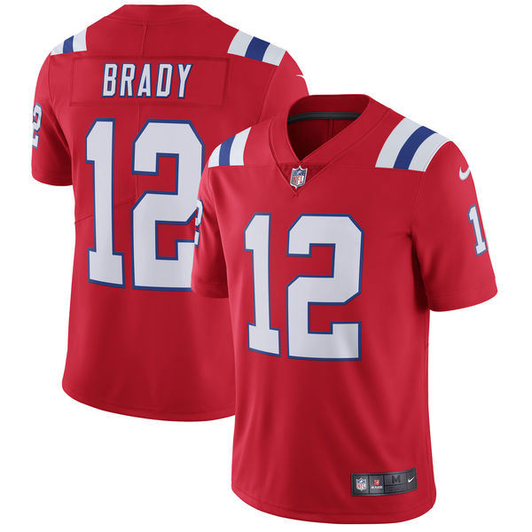 2850c87bded Tom Brady New England Patriots Red Limited Player Jersey on Storenvy