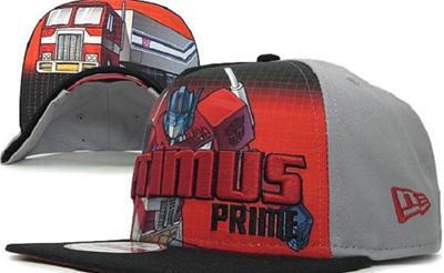 4206dc128 Transformer Optimus Prime Sub-Rival Snapback Hats