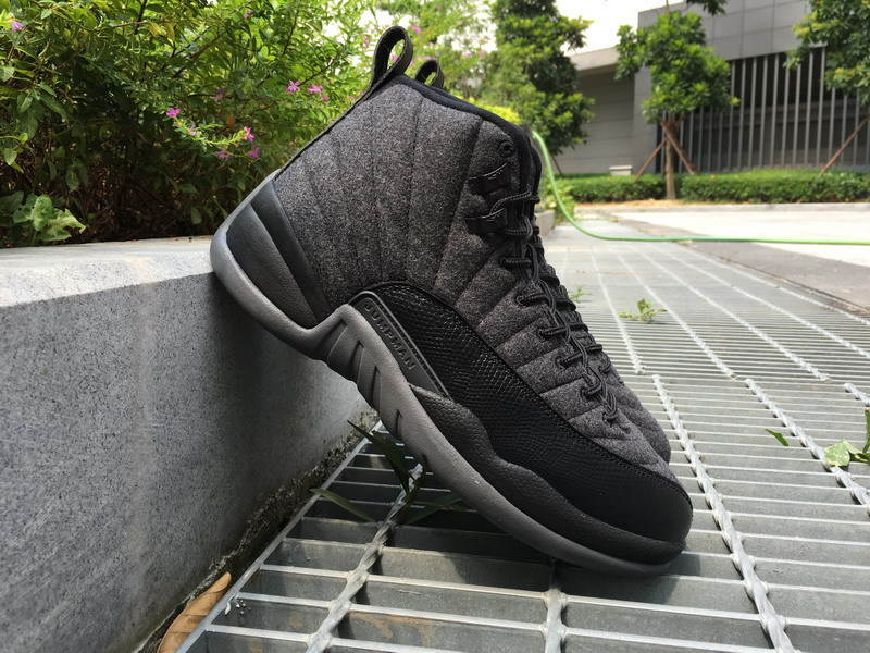 "... Nike Air Jordan 12 ""Wool"" Shoes Nike Air Jordan Retro 12 Wool Shoes Nike  ... 744039547"