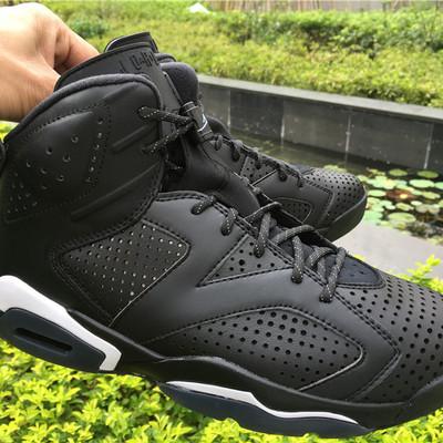 a6118af9213 Nike air jordan 6 retro black cat shoes nike air jordan retro 6 men  basketball shoes
