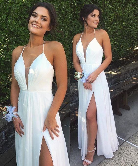 Charming prom dress, long prom dress, new prom dress, affordable ...