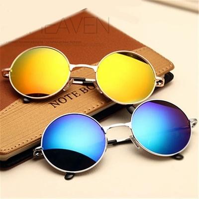 8e02ec2001e Beautiful vintage round sunglasses women male female sun glasses gold  vintage circle men sunglasses feminine goggles