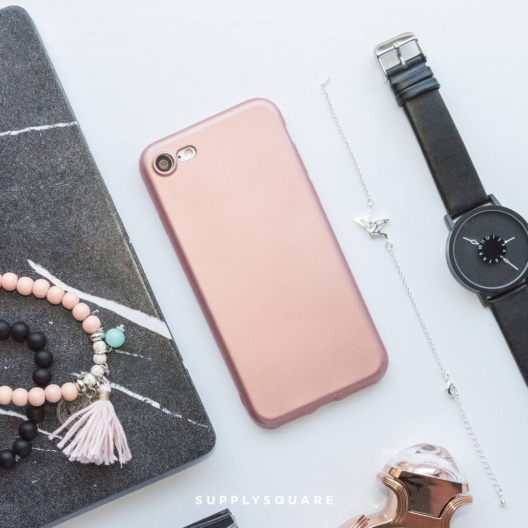 iphone 8 protective case rose gold
