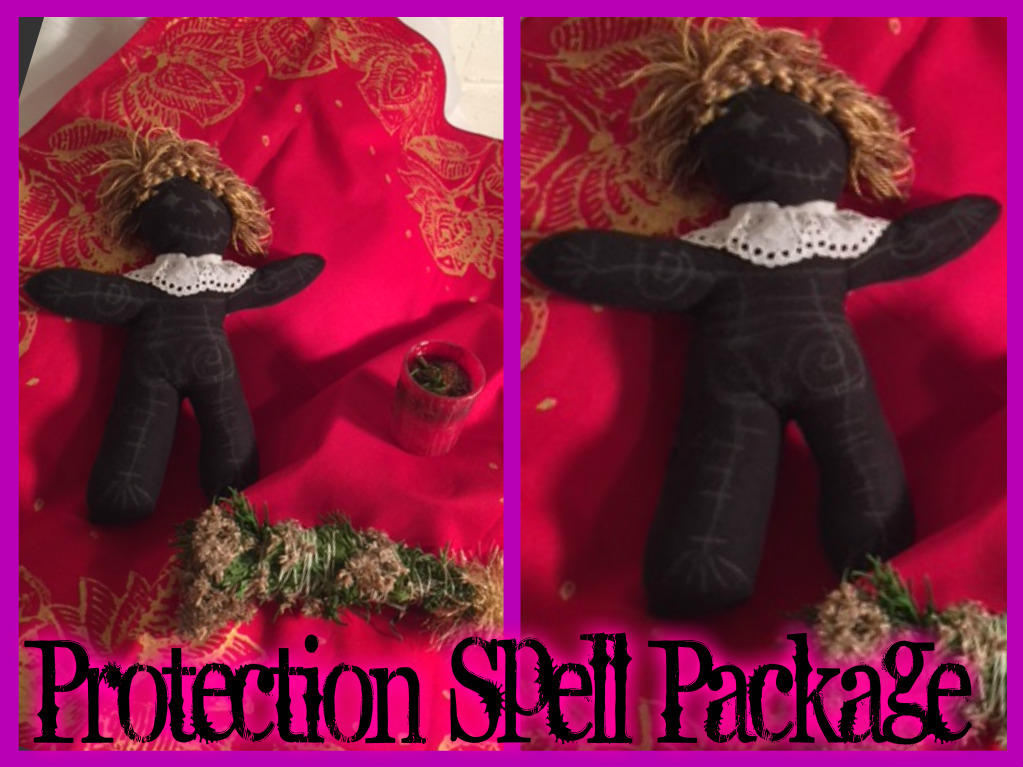 Protection Spell Package Package from RueMerriweather