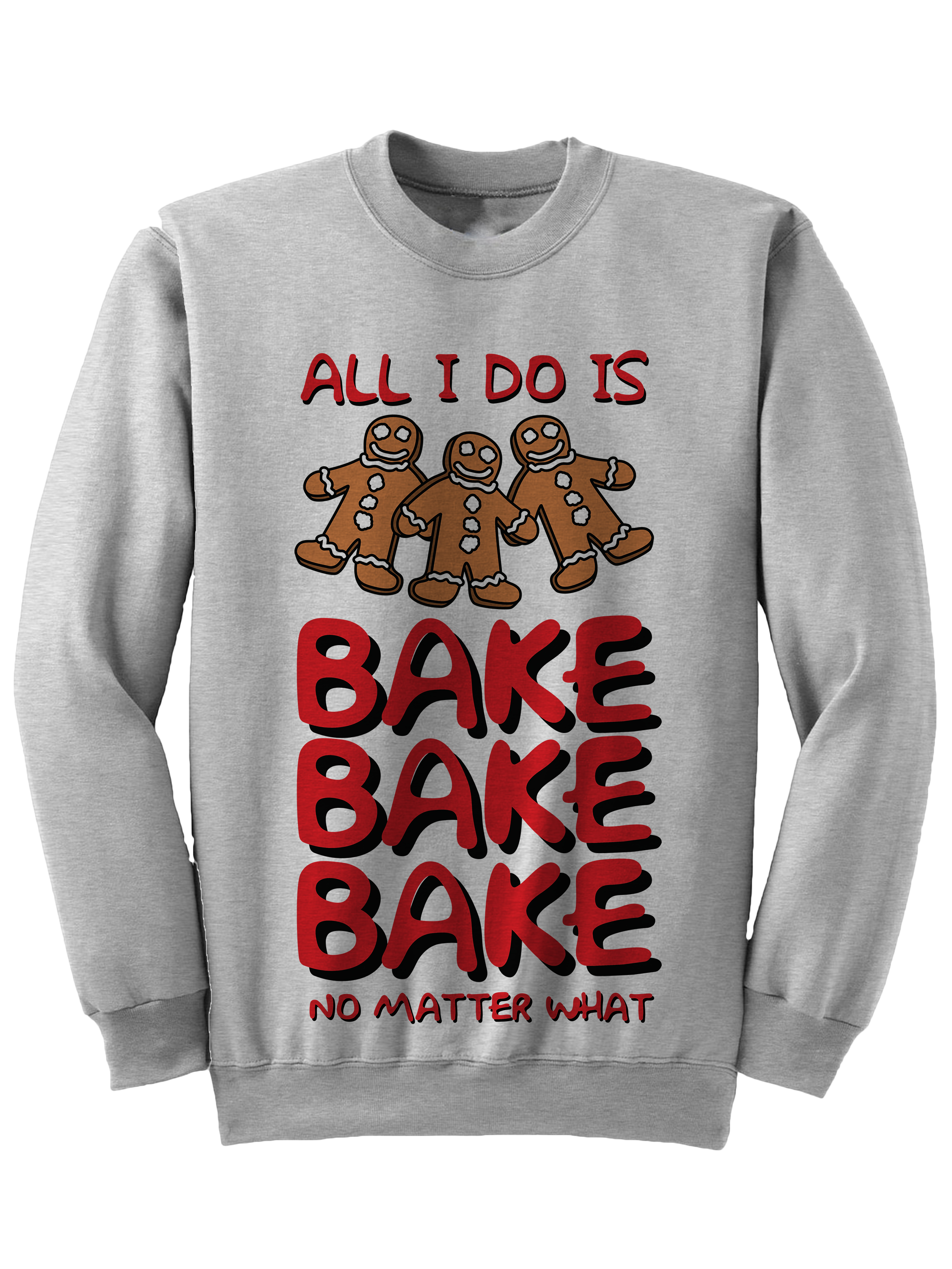 0da87ad5241 ALL I DO IS BAKE CHRISTMAS SWEATER FUNNY GIFT IDEAS LADIES TOPS MENS FASHION  PLUS SIZE