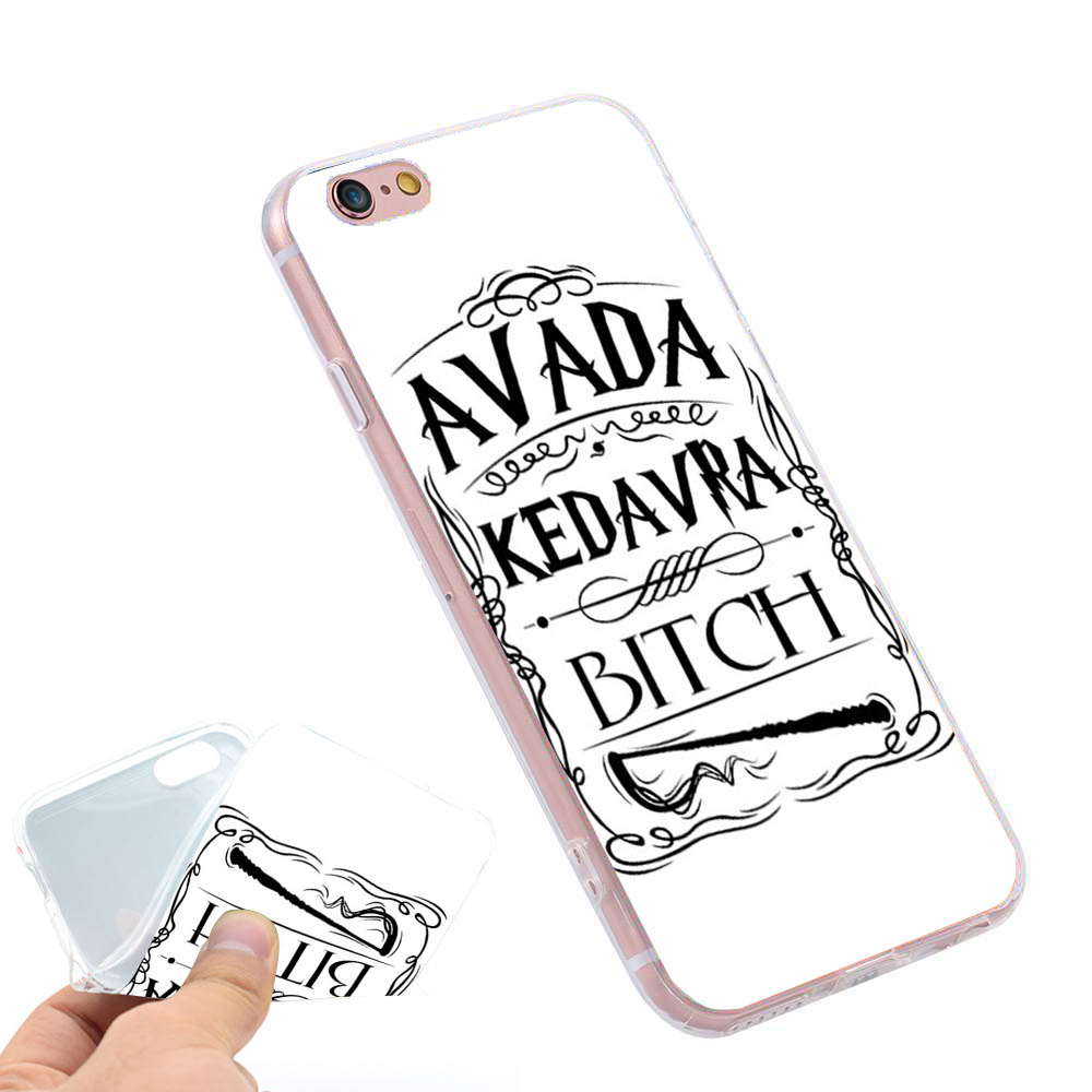 Avada Kedavra Bitch For Harry Potter Phone Case Cover For