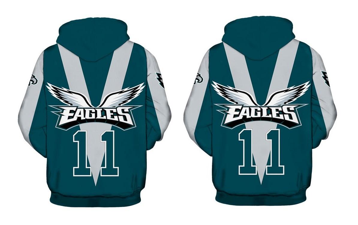 8f7eab01 Philadelphia Eagles NFL Football Team Hoodie