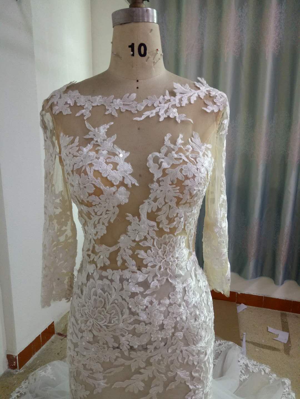 0f592cc6fe Berta Inspired Long Sleeve Wedding Dress from Darius Cordell on Storenvy