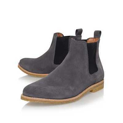 5a9fb47a055f New Handmade Chelsea Gray Suede Color Boots