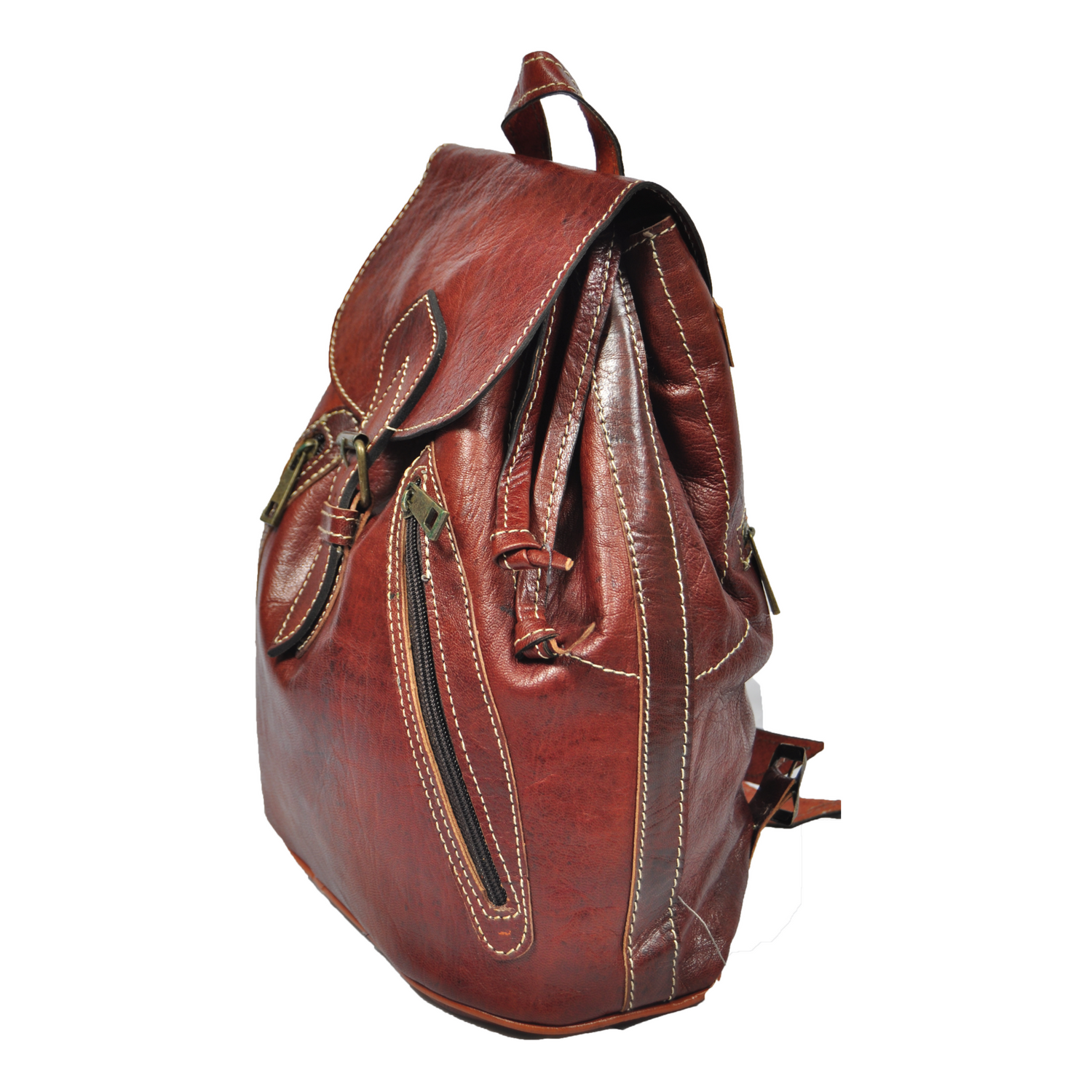 5c4036bf0cd3 Leather Backpack Bag Women Handmade Rucksack Travel New Shoulder S Vintage  School Genuine Handbag Womens Fashion